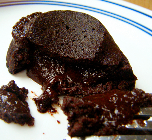 Recipes for chocolate molten cakes